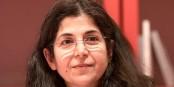 Fariba Adelkhah, au Salon du livre à Paris. Foto: Georges Seguin (Okki) / Wikimedia Commons / CC-BY-SA 3.0