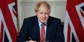 Und jetzt - hinein in die blühenden britischen Landschaften... Foto: U.K. Prime Minister / Wikimedia Commons / OGL v3