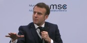Die Lektionen, die Emmanuel Macron in München erteilen wollte, kamen nicht so richtig gut an. Foto: ScS EJ