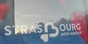 """""""Lieben wir uns vom 7. bis zum 16. Februar"""", so der Slogan von """"Strasbourg, mon amour"""". Und danach? Nicht mehr? Foto: Eurojournalist(e) / CC-BY-SA 4.0int"""