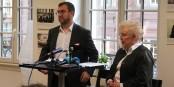 Mathieu Cahn und Catherine Trautmann gestern bei der Bekanntgabe der neuen Spitzenkandidatur. Foto: Eurojournalist(e) / CC-BY-SA 4.0int