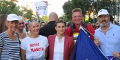 La Pride à Belgrade, en 2019  Foto: Mickey Mystique/Wikimédia Commons/CC-BY-SA/4.0Int