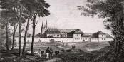 L'Asile Stéphansfeld à Brumath en 1841. Foto: Auteur inconnu / Wikimedia Commons / PD