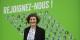 La candidate EELV aux municipales à Strasbourg, Jeanne Barseghian, maîtrise la langue de Goethe - pas inutile pour la coopération transfrontalière. Foto: Eurojournalist(e) / CC-BY-SA 4.0int