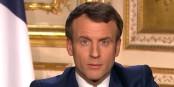 Der französische Präsident erklärte gestern dem Coronavirus den Krieg... Foto: ScS EJ