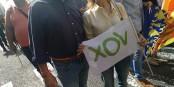 Vox, ce parti politique espagnol d'extrême-droite auquel des femmes adhèrent alors qu'il ne défend nullement leurs droits ! Foto: VOX Valencia / Wikimedia Commons / CC0 1.0