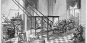 A l'Hôpital de la PItié-Salpêtrière, fin 19ème siècle  Foto: Ernst Keil/Wikimédia Commons/CC-BY-SA PD