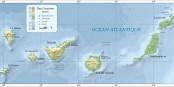 La pandémie de Covid-19 n'a pas la même incidence sur les Îles Canaries que sur le continent. Foto: Mysid / Wikimedia Commons / PD