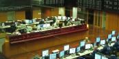 La bourse, ce casino corrompu et cynique, est resté ouvert 24/24h - et profite de la crise. Foto: Christophe F. Siekermann / Wikimedia Commons / GNU FDL