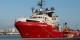 L'Ocean Viking au port de Marseille, prêt à retourner le plus vite possible en mer. Foto: Fabian Mondi / SOS Méditerranée