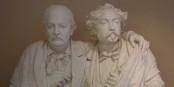 Émile Erckmann & Alexandre Chatrian, par Auguste Bartholdi, 1872 (Musée Bartholdi  Colmar) / Edelseider / Wikimedia Commons / CC-BY-SA 4.0int