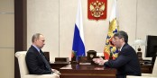 Le dirigeant de la République Bouriate, Alexei Tsidenov, avec Vlado  Foto: The RPP et IO/Wikimédia Commons/CC-BY-SA/4.0Int