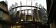 Die Urgewalt der Macht - das Europäische Parlament dräut über den Dächern von Ungemach, dem Modell-Arbeiterviertel aus den 20er Jahren. Foto: (c) Michael Magercord