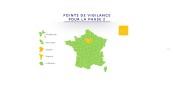 """Fast ganz Frankreich ist wieder """"grün"""" und ab Dienstag, den 2. Juni, werden viele Dinge wieder möglich. Foto: https://gouvernement.fr"""