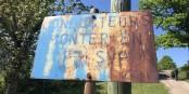 Bitte im ersten Gang hochfahren, das steht auf dem Schild am Climont. Das gilt auch für Ihre gastronomischen Abenteuer zurzeit aus gutem Grund - Vielfalt gibt's ja trotzdem... Foto: Mats Meeussen / CC-BY-SA 4.0int