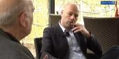 Vincent Thiébaut im Gespräch mit Eurojournalist(e). Foto: Archiv Eurojournalist(e)