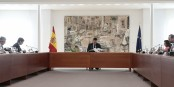 Le Gouvernement Sánchez a obtenu la prolongation de l'état d'alerte au prix d'alliances parfois surprenantes. Foto: Ministry of the Presidency. Government of Spain /  Wikimedia Commons