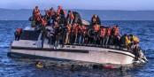 Réfugiés irakiens et syriens, arrivant à Lesbos. Foto: Ggia / Wikimedia Commons / CC-BY-SA 4.0int