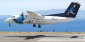 Une Dash 8 de la SATA (Serviço Açoriano de Transportes Aéreos) Foto: Aero Icarus from Zürich, Switzerland / Wikimedia Commons /  CC-BY-SA 2.0