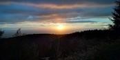 Coucher de soleil sur la Forêt Noire... Foto: JJustanick79 / Wikimedia Commons / CC-BY-SA 4.0int