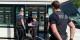 Accueil chaleureux de la poignée de voyageurs de la ligne D du tram - bienvenue en Allemagne ! Foto: Florence Grandon (France Télévisions) / CC-BY-SA 4.0int