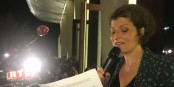 Hier soir, au TNS à Strasbourg, Jeanne Barseghian, élue maire de Strasbourg ! Foto: (c) NicoR