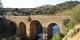 Le Puente de Segura, construit sous Trajan et enjambant l'Erjas, à la frontière entre le Portugal et l'Espagne. Foto: Caligatus / Wikimedia Commons /  PD