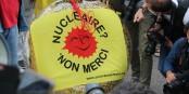 Mit diesem Rettungsring wurde gestern die Atomkraft am Oberrhein symbolisch beerdigt... Foto: Eurojournalist(e) / CC-BY-SA 4.0int