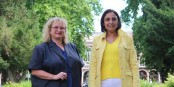 Lara Million et Fatima Jenn - Women's Power pour Mulhouse ? Foto: Eurojournalist(e) / CC-BY-SA 4.0int