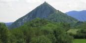 Montségur, l'un des bastions de la civilisation occitane au Moyen Age  Foto: Belgian man/Wikimédia Commons/ CC-BY-SA/3.0Unp