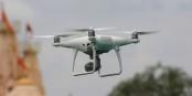 Le drone camera, un moyen de surveillance de plus en plus utilisé par les forces de l'ordre de nombreux pays. Foto: Vijay Barot / Wikimedia Commons / CC-BY-SA 4.0int