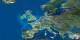 Vu du ciel, les frontières des pays européens ne sont pas si évidentes que certains le prétendent. Foto: Agence Spatiale Européenne / Wikimedia Commons / CC-BY-SA 3.0 IGO