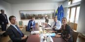 """Les """"Frugal 4 + 1"""" sont en train d'enterrer l'idée d'une Europe solidaire. Combien de temps seront-nous encore à 27 dans l'UE ? Foto: (c) European Union 2020"""