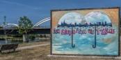 Das ist doch mal ein Hintergrund für Selfies - in Kehl am Rhein! Foto: Annette Lipkowsky / Stadt Kehl