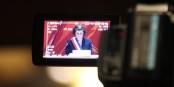 Samedi, après son élection, Jeanne Barseghian a expliqué les grandes lignes de son mandat. Foto: Eurojournalist(e) / CC-BY-SA 4.0int