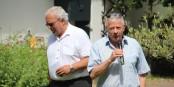 """Jean-Luc Heimburger (à droite) et Jacques Zucker ont souligné le caractère exemplaire de la gestion de la crise par la société """"chez soi"""" - impressionnant ! Foto: Eurojournalist(e) / CC-BY-SA 4.0int"""