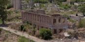 La ville d'Agdam, vide et fantôme depuis les combats de 1994  Foto: TerryOGM/Wikimédia Commons/CC-BY-SA/4.0Int
