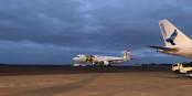 Avions de la TAP et de la SATA (Air Azores) sur le tarmac de l'Aéroport João Paulo II à Ponta Delgada aux Açores. Foto: Sharon Hahn Darlin / Wikimedia Commons / CC-BY 2.0