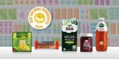 """Diese fünf Produkte haben es ins Finale des """"Goldenen Windbeutels 2020"""" für die dreisteste Werbelüge des Jahres """"geschafft"""". Foto: https://foodwatch.org"""