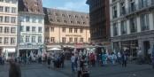 Idéalement situé sur la Place de la Cathédrale à Strasbourg, l'Hôtel de la Cathédrale se bat pour la survie, comme tant d'autres. Foto: Eurojournalist(e) / CC-BY-SA 4.0int