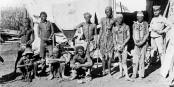 Den ersten Völkermord des 20. Jahrhunderts beging Deutschland im heutigen Namibia. Foto: unbekannter Fotograf / Wikimedia Commons / PD