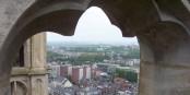 Amiens vue depuis les tours de la cathédrale. Foto: JHagardDuNord / Wikimedia Commons / CC-BY-SA 3.0