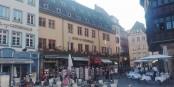 """Idéalement situé en face de la Cathédrale et du """"Kammerzell"""", l'Hôtel de la Cathédrale traverse aussi une période difficile. Foto: Eurojournalist(e) / CC-BY-SA 4.0int"""