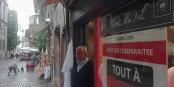 La Rue du Maroquin, dépeuplée en cette fin d'été... Foto: Eurojournalist(e)