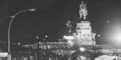 Am 3. Oktober 1990 wurde überall in Deutschland gefeiert - aber wie am 9. November 1989 wurde es nie wieder. Foto: Bundesarchiv / Bild 183-1990-1003-012 / Settnik, Bernd / Wikimedia Commons / CC-BY-SA 3.0