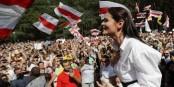 La candidate forcée à l'exil, Sviatlana Tsikhanouskaia   Foto: Al.Gribko/CC-BY-SA/4.0Int