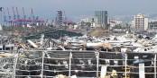 L'explosion au Port de Beyrouth le 4 août dernier a déclenché une nouvelle crise majeure au Liban. Foto: Freimut Bahlo / Wikimedia Commons / CC-BY-SA 4.0int