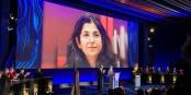 Fariba Adelkhah n'a pas pu venir à Genève pour y accueillir sa haute distinction. Foto: Comité de soutien de Fariba Adelkhah
