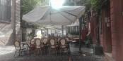 La Rue du Maroquin, aussi vide que la terrasse. Cela devient inquiétant. Foto: Eurojournalist(e) / CC-BY-SA 4.0int