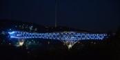 Le Pont Tabiat, œuvre de l'architecte Leila Araghian, construit à Téhéran entre 2010 et 2014. Foto: Wojciech Kocot / Wikimedia Commons / CC-BY-SA 4.0int